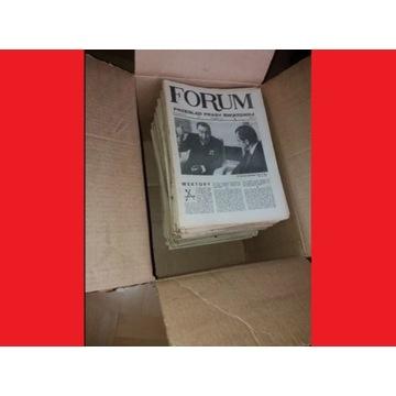 """277 sztuk - gazeta czasopismo tygodnik """"FORUM""""."""