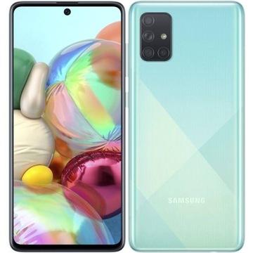 Smartfon Samsung Galaxy A71 6/128 GB niebieski,