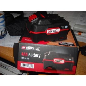 nowy akumulator parkiside 20v 4Ah li