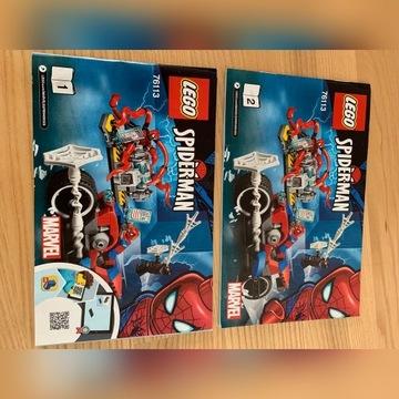 Super Heroes Pościg Motocyklowy Spider-Mana 76113