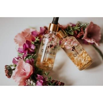 Olejek do ciała z płatkami róży i złota bergamota
