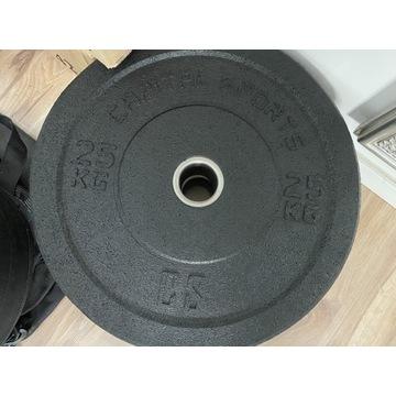 Obciążenie olimpijskie bumper 25kg capital sports