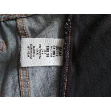 Spodnie ciążowe skinny jeans rozmiar 38 - 3 pary!