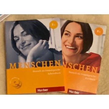Menschen B1 książka + ćwiczenia  J. Niemiecki
