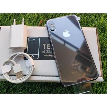 IPhone X 64GB SPACE GREY SZARY CZARNY Bat 90% Gwar
