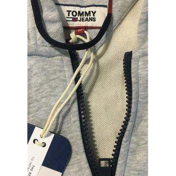 Bluza Tommy Jeans szara w rozmiarze M