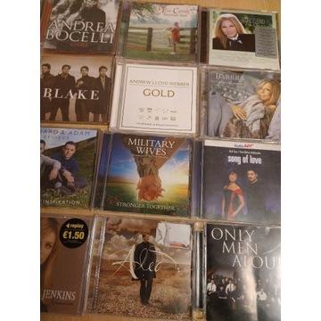 16 CD  Bocelli,Streisand,K.Jenkins, Alfie Nie,Cura