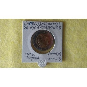 Moneta 2 euro Niemcy błędny druk