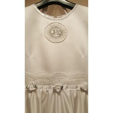 Komunia 140 152 alba sukienka bolero torebka wian