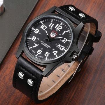 Militarny zegarek męski LICYTACJA OD 1 ZŁ