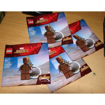 Lego  figurka  breloczek Teen Groot 5005244