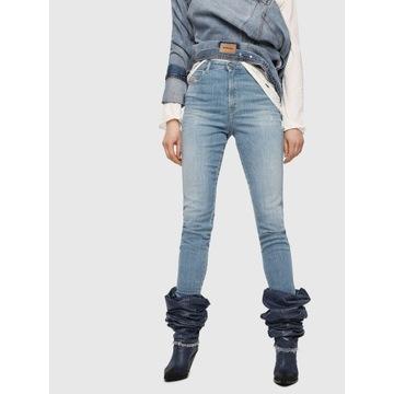 Diesel Jeans Babhila High 27/32 NOWE z metką
