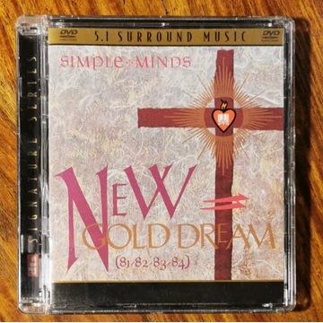 SIMPLE MINDS - New Gold Dream - DVD-A 5.1. st.BDB