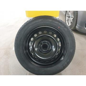 Felga stalowa z oponą Dunlop, 205/60/R16