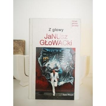 Książka Z Głowy Janusz Głowacki AUTOGRAF