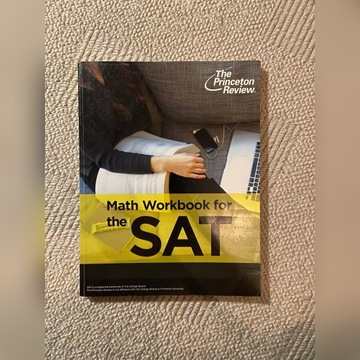 Math Workbook for the SAT Princeton Review