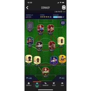 FIFA 21 KONTO PS4 2,58 MLN COINS