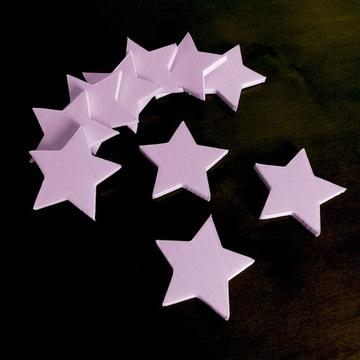 Gwiazdki na ścianę dla dziecka 10 sztuk malowanie