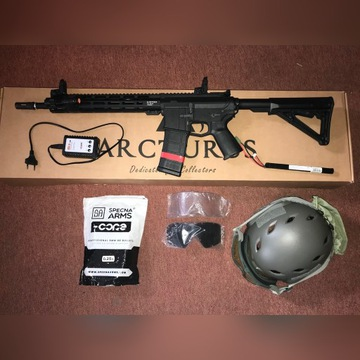 Replika ASG AR-15 + dodatki