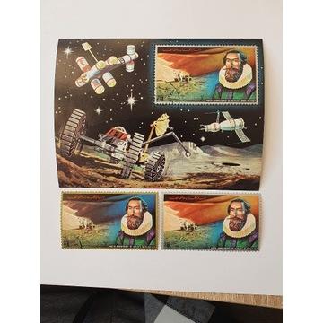 (1751) blok i znaczki kosmos