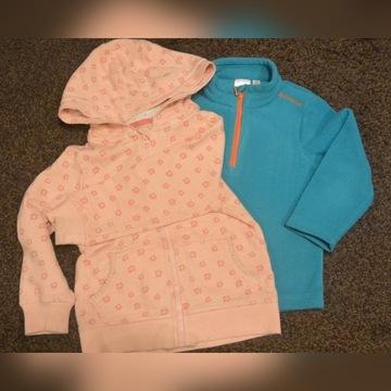 zestaw ubrań dla dziewczynki 80