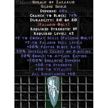 Zakarum 180ed+ Paladyn - Diablo 2 LOD NOWY LADDER