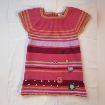 20-13 sukienka dla dziewczynki MIOBIC R. 2 LATA