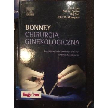 Chirurgia ginekologiczna BONNEY