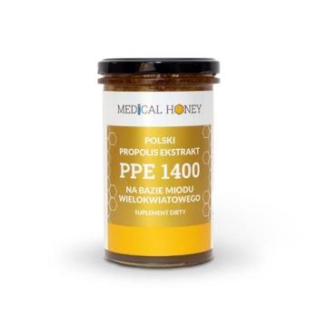 NOWY miód Polski propolis ekstrakt PPE 1400