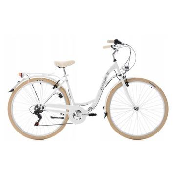 Rower Miejski Damski 28 Shimano 6 biegów Retro