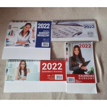 kalendarz 2022 biurkowy  4 za 10 zł