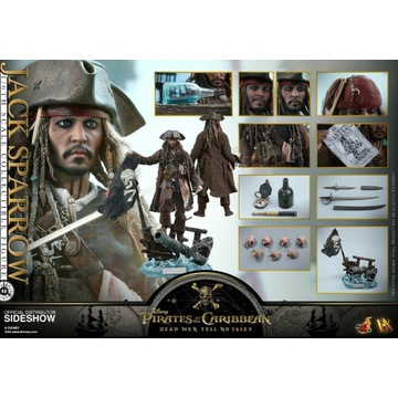 Jack Sparrow DX15 1/6 Hot Toys