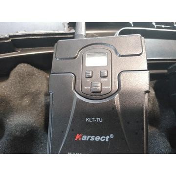 Mikrofon bezprzewodowy Bodypack Karsect KLT 7U