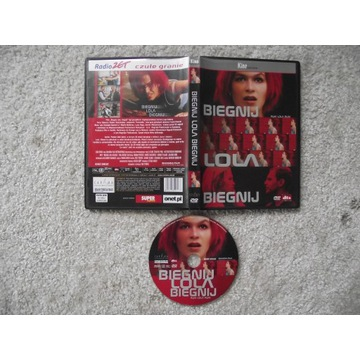 BIEGNIJ LOLA BIEGNIJ mega film (DVD),jak nowa