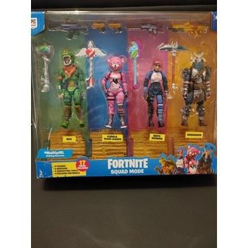 Pakiet 4 figurek Fortnite Squad Mode