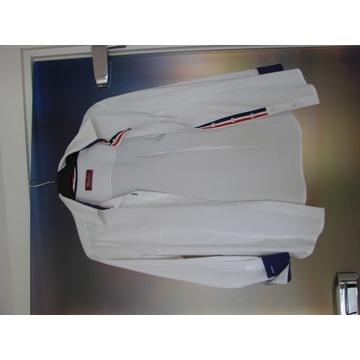 Biała koszulka elegancka rozmiar 38
