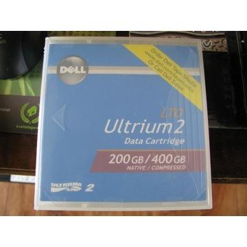 TAŚMA DELL LTO-2 ULTRIUM 200GB/400GB 0N0439