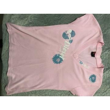 Koszulka rozowa diesel l