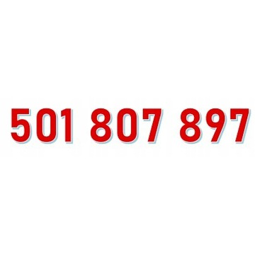501 807 897 ORANGE ŁATWY ZŁOTY NUMER starter