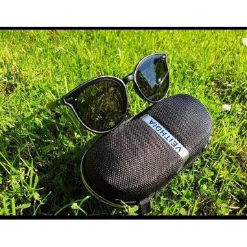 Okulary damskie fotochromowe, polaryzac. veithidia