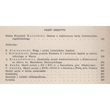 Wiadomości numizmatyczne 50/1969