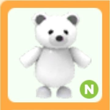 Roblox Adopt Me Polar Bear N neon
