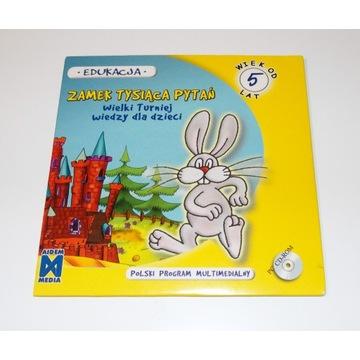 Program edukacyjny ZAMEK TYSIĄCA PYTAŃ gra PC CD