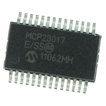 Ekspander MCP23017 SSOP-28 6 sztuk