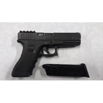 Glock 17 WE zestaw