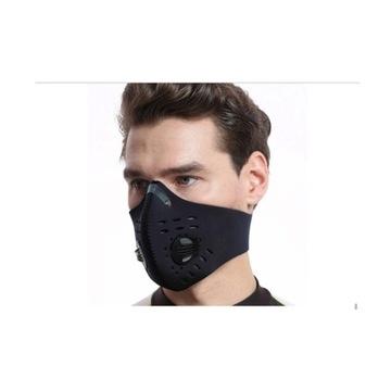 Maska sportowa, antywirusowa z filtrem WYSYŁKA 24H
