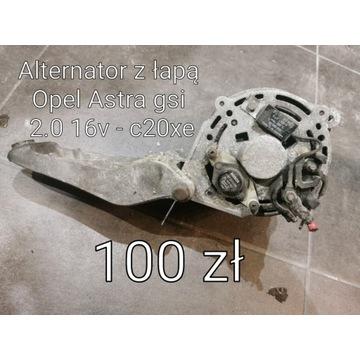 Alternator z łapą Opel Astra  gsi 2.0 16v