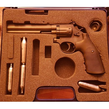 """Rewolwer Wiatrówka Smith&Wesson 586 6"""""""