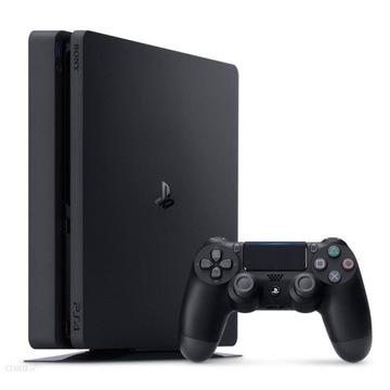 Konsola PS4 SLIM 1TB + PAD+6 gier(GRATIS)