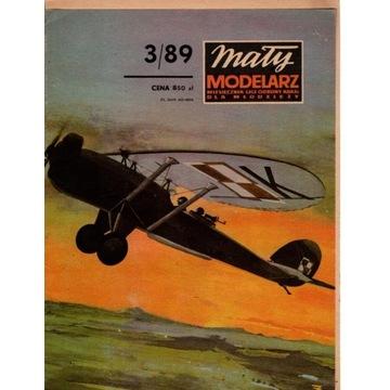 MM 3/89 samolot Lublin RWD-XIII D